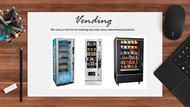 Vending From Horizon Coffee & Water Services